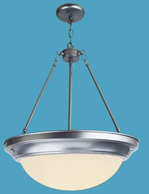 Pendant Opal Chandelier, with Ring, PL Ballast
