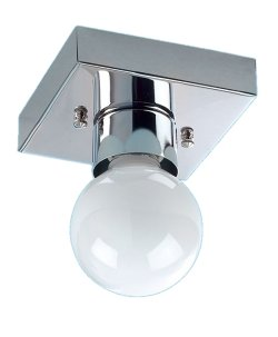 Ceiling Flush Plated Mounted G Bulb