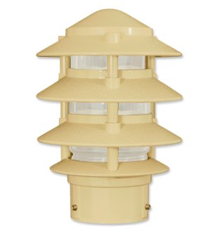"4 Tier Pagoda Small Top for 3"" Post"