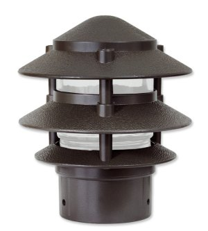 "Pagoda 3 Tier Small Top for 3"" Post"