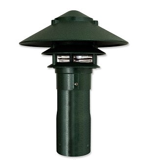 "LED Pagoda Large Top Small Tier for 3"" Post"