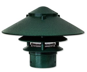 "Pagoda Large Top Small Tier for 3"" Post"