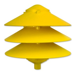 Pagoda Large 3 Tier Top, for Garden Stake