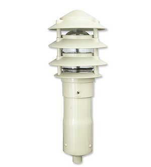 LED Pagoda Small 4 Tier for garden spike