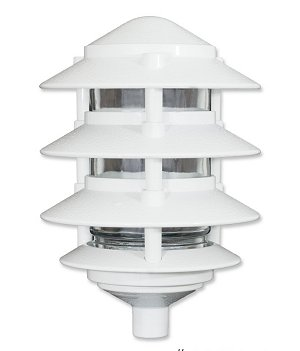 Pagoda Small 4 Tier for garden spike