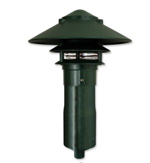 LED Pagoda Large Top  for Garden Stake or Stem