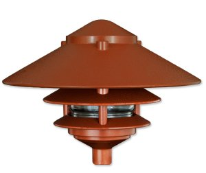 Pagoda Large Top  for Garden Stake or Stem