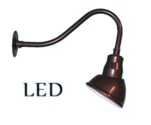 Led Small Gooseneck Sign Light Short Arm
