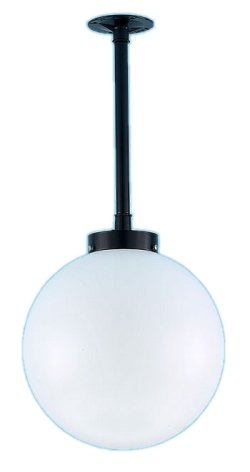 Acrylic Globe Stem Pendant Light