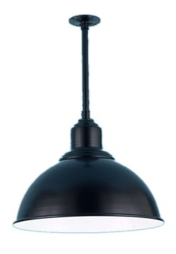 Dome Hood Pendant on Stem