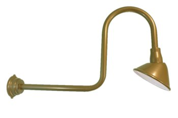 heavy gauge loop gooseneck angle sign light