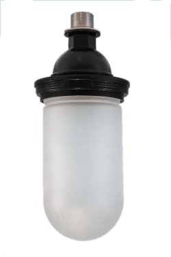 "Jelly Jar Shade for 1 1/2"" Sch 40 Pipe"