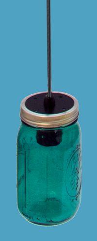 Colorized mason jars lighting love it lighting green mason jar pendant light on cord aloadofball Gallery