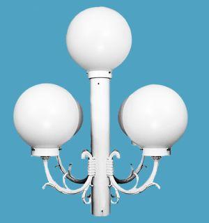 Special 5 acrylic globes exterior post light loveitlighting special 5 acrylic globes exterior post light aloadofball Images