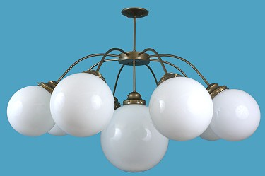 9 Light Globe Chandelier