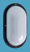 LED Polycarbonate Nautical Wall Sconce No Bars